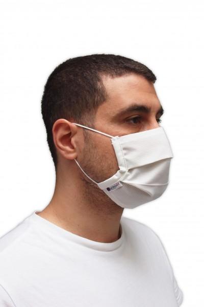 Antibakterielle Mund-Nasen-Maske mit Gummiband